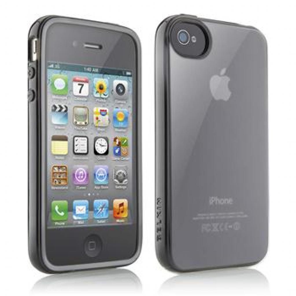 Чехол для моб. телефона Belkin iPhone 4/4S Essential 013 Black (F8Z844cwC00)