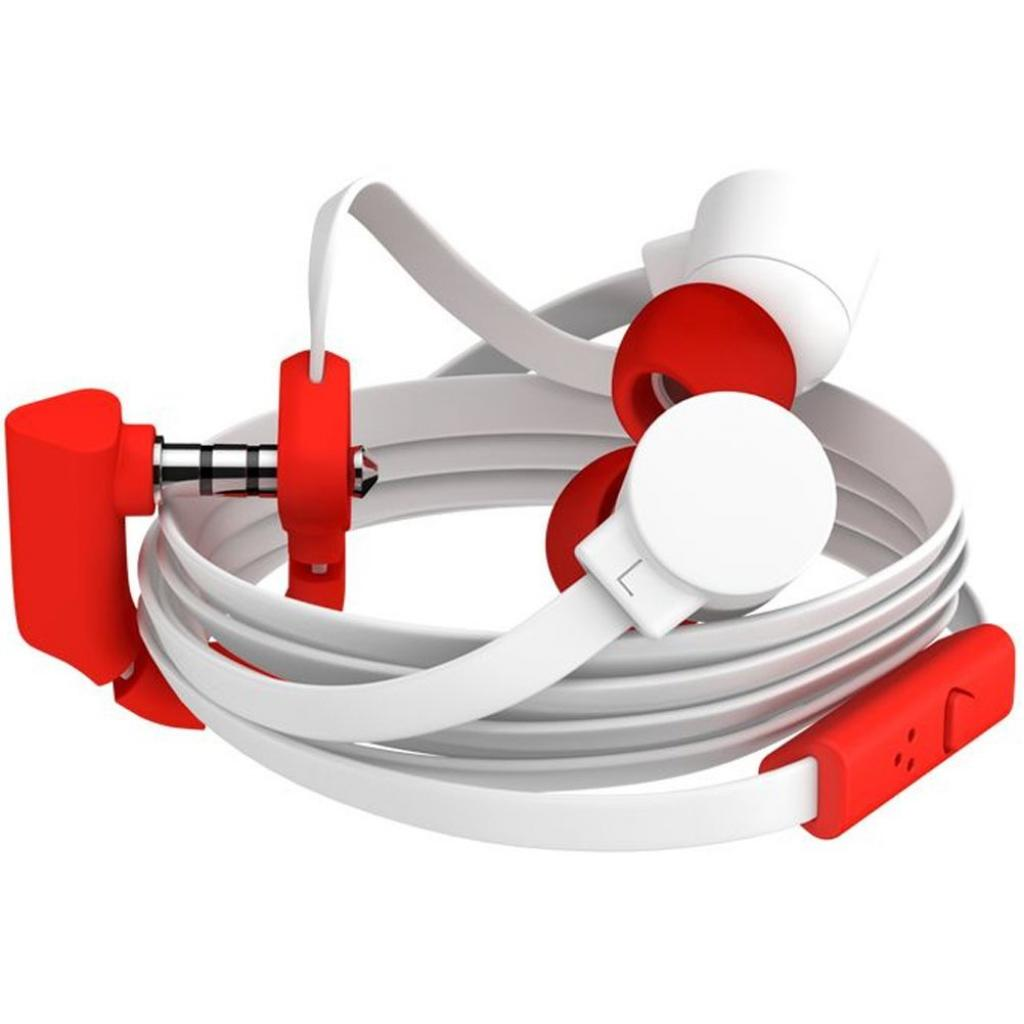 Наушники COLOUD POP Blocks White/Red (4090648) изображение 4