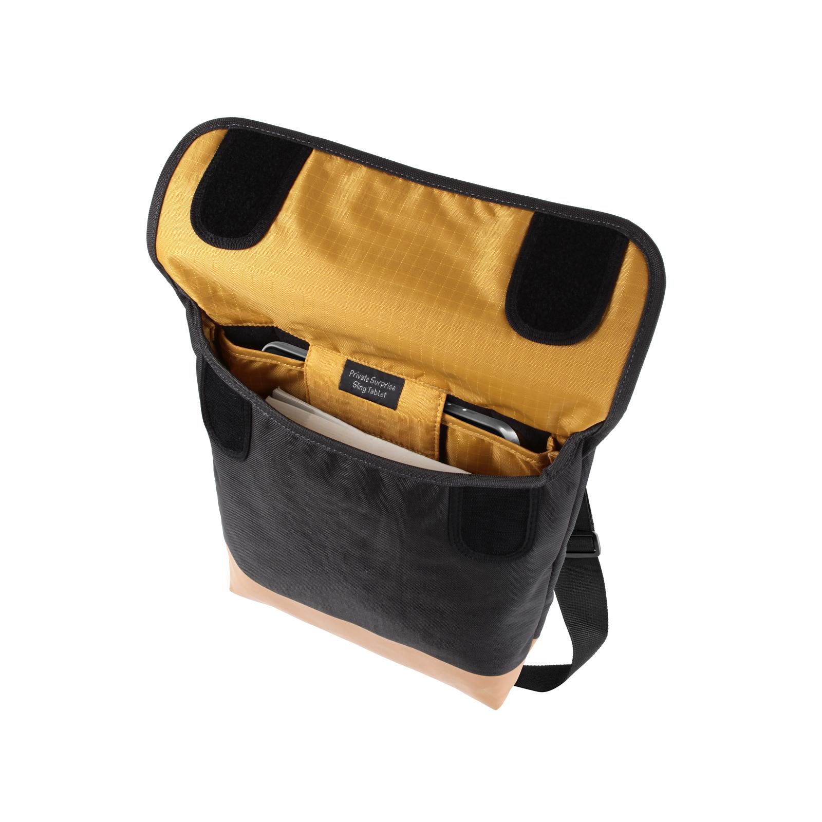 Чехол для планшета Crumpler 9 Private Surprise Sling Tablet/charcoal - orange (PSST-004) изображение 4