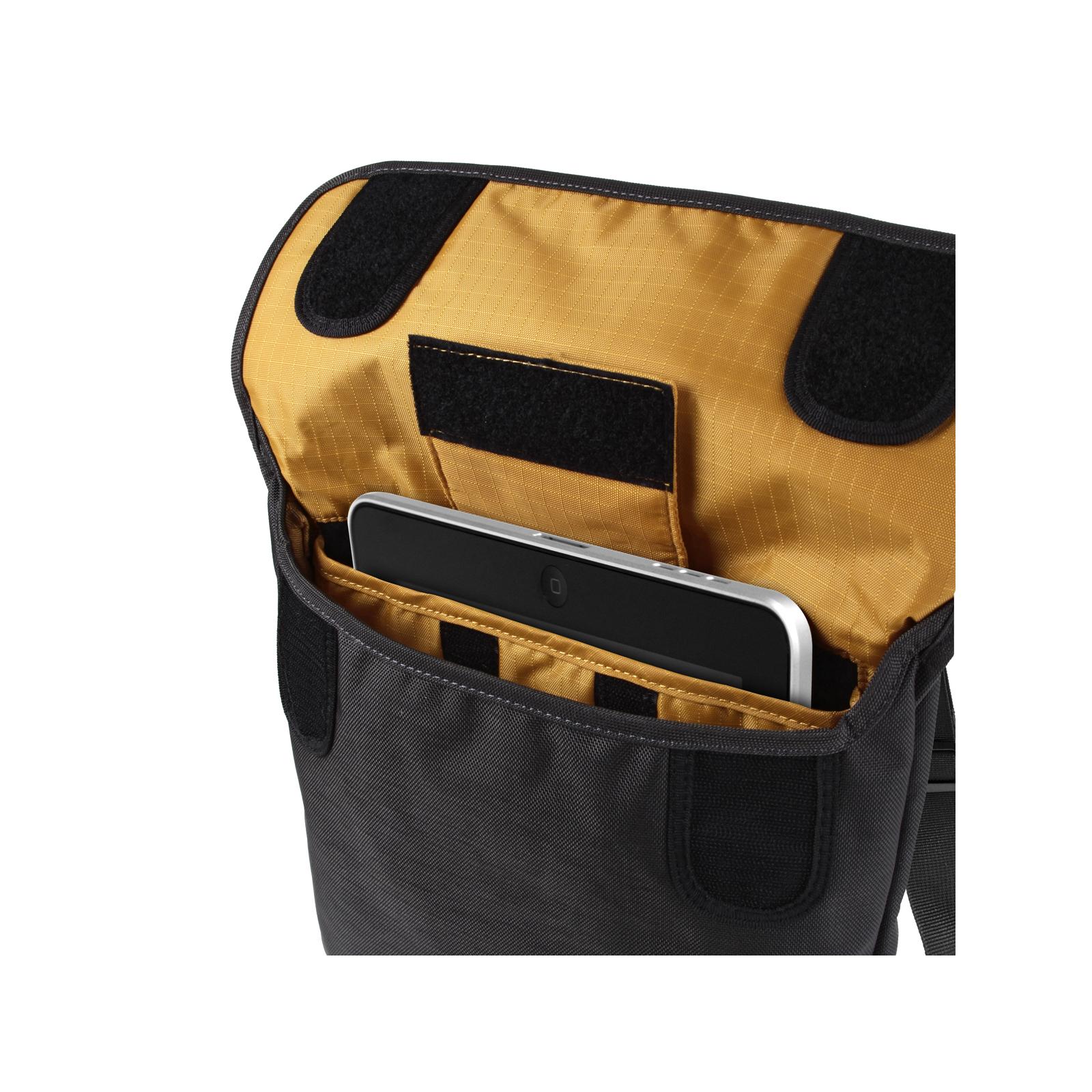 Чехол для планшета Crumpler 9 Private Surprise Sling Tablet/charcoal - orange (PSST-004) изображение 5