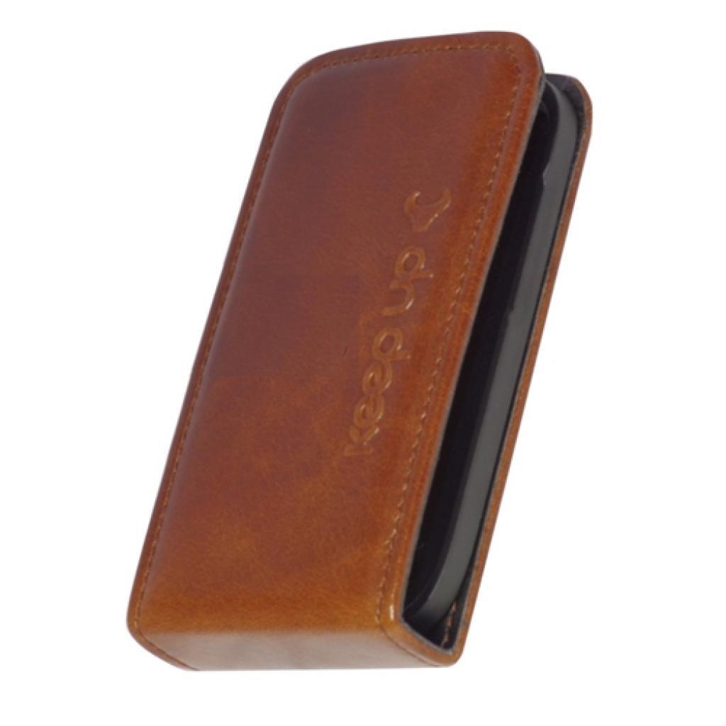 Чехол для моб. телефона KeepUp для Samsung S6810 Galaxy Fame Bronze/FLIP (00-00007660) изображение 2