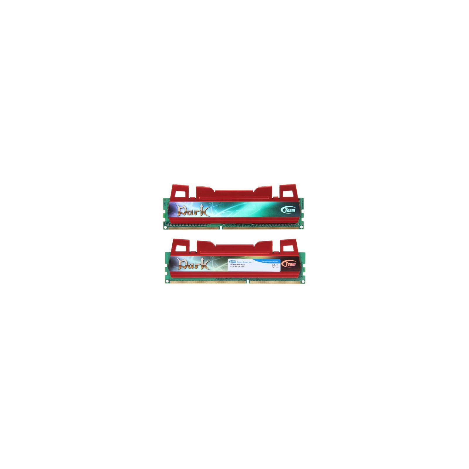 Модуль памяти для компьютера DDR3 8GB (2x4GB) 1600 MHz Team (TDRD38G1600HC9DC01)