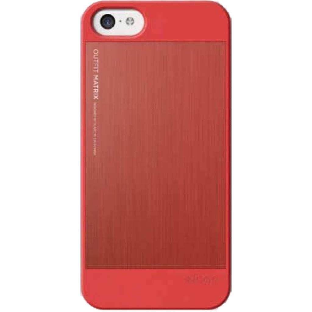 Чехол для моб. телефона ELAGO для iPhone 5C /Outfit MATRIX Aluminum/Red (ES5COFMX-IROIRO-RT) изображение 3