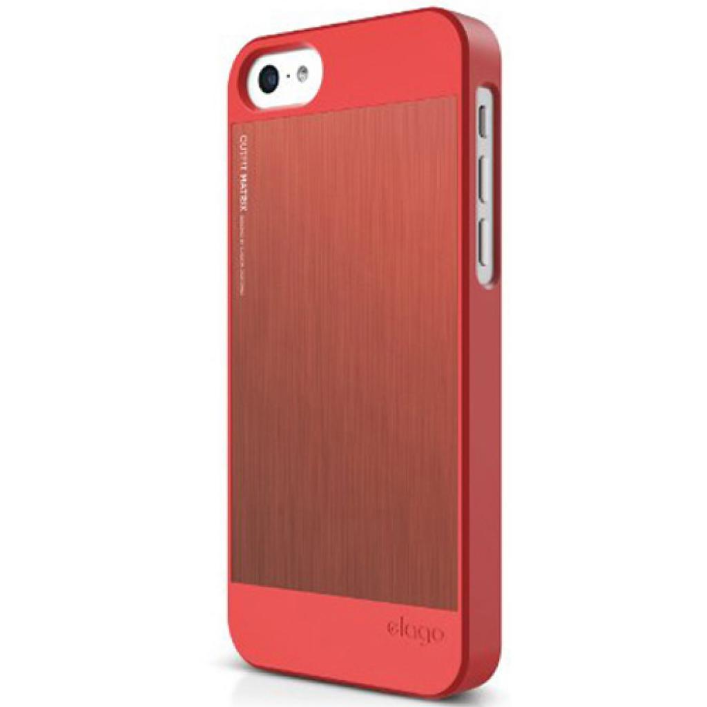 Чехол для моб. телефона ELAGO для iPhone 5C /Outfit MATRIX Aluminum/Red (ES5COFMX-IROIRO-RT) изображение 6