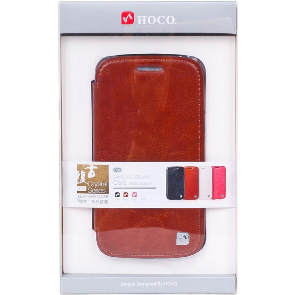 Чехол для моб. телефона HOCO для Samsung I8262 Galaxy Core Duos-Crystal s (HS-L065 Brown)