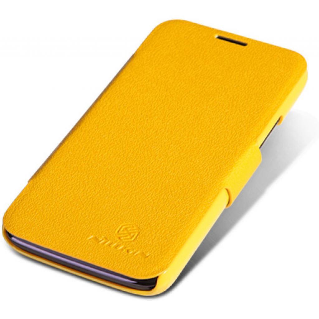 Чехол для моб. телефона NILLKIN для Lenovo A820 /Fresh/ Leather/Yellow (6100770) изображение 2