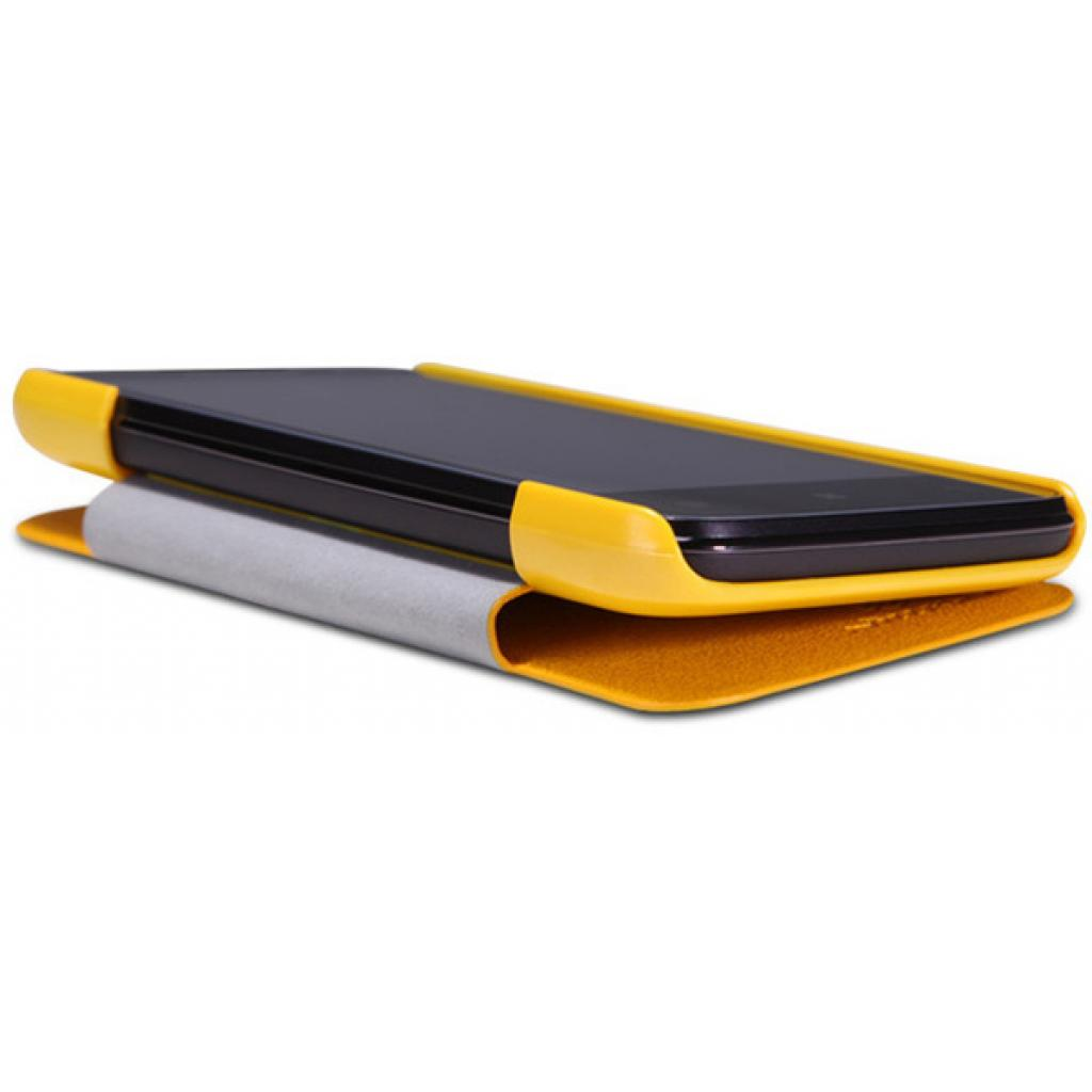 Чехол для моб. телефона NILLKIN для Lenovo A820 /Fresh/ Leather/Yellow (6100770) изображение 3