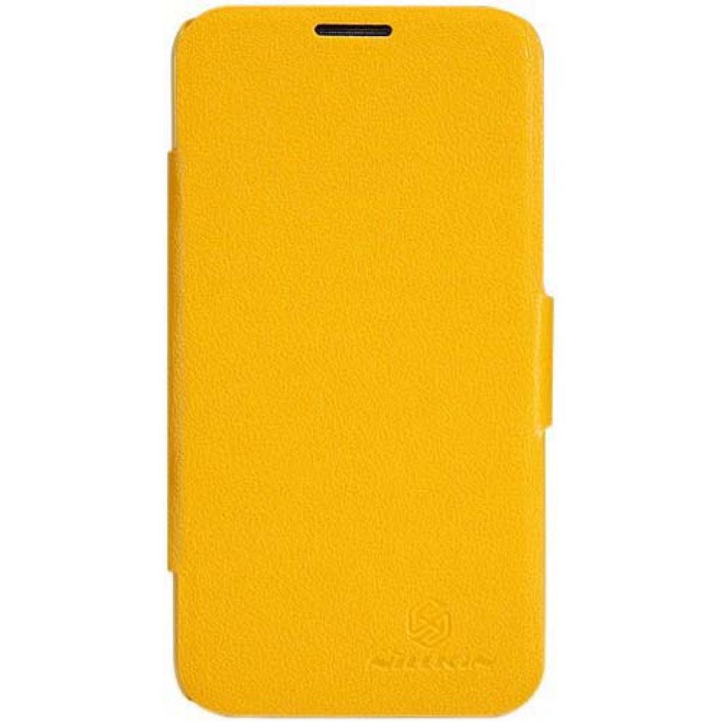Чехол для моб. телефона NILLKIN для Lenovo A820 /Fresh/ Leather/Yellow (6100770)