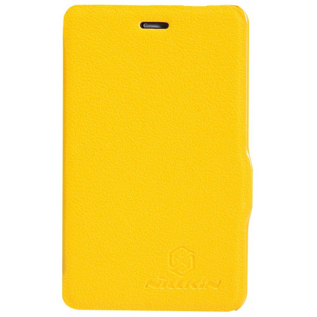 Чехол для моб. телефона NILLKIN для Nokia 501/Fresh/ Leather/Yellow (6076877)