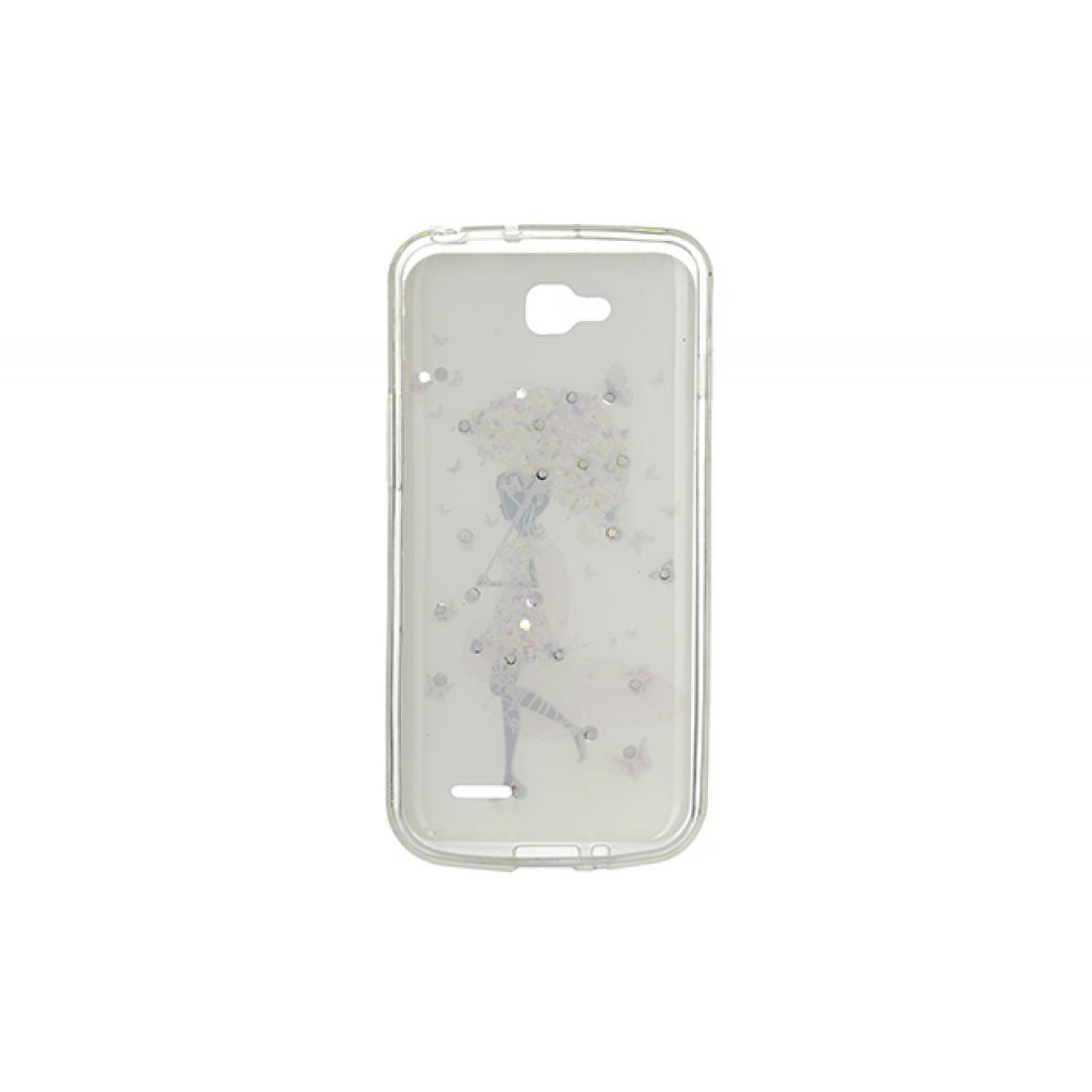 Чехол для моб. телефона для LG L90 (D405) (White) Cristall PU Drobak (211597) изображение 2