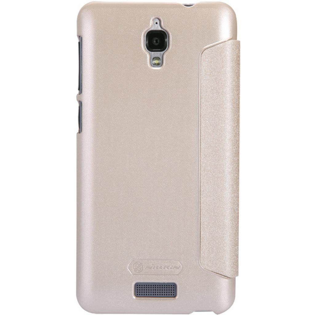 Чехол для моб. телефона NILLKIN для Lenovo S660 /Spark/ Leather/Golden (6164333) изображение 4