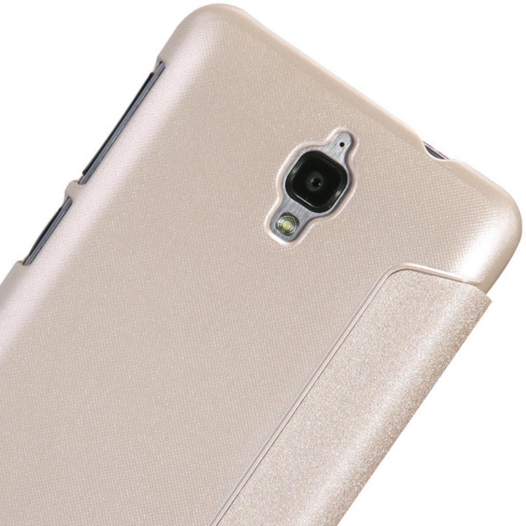 Чехол для моб. телефона NILLKIN для Lenovo S660 /Spark/ Leather/Golden (6164333) изображение 5