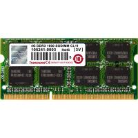 Модуль памяти для ноутбука SoDIMM DDR3 4GB 1600 MHz Transcend (TS512MSK64V6H)