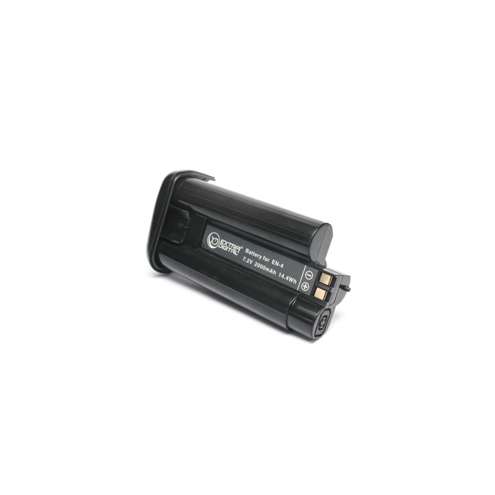 Аккумулятор к фото/видео EXTRADIGITAL Nikon EN-4 (chip) (BDN1307) изображение 2