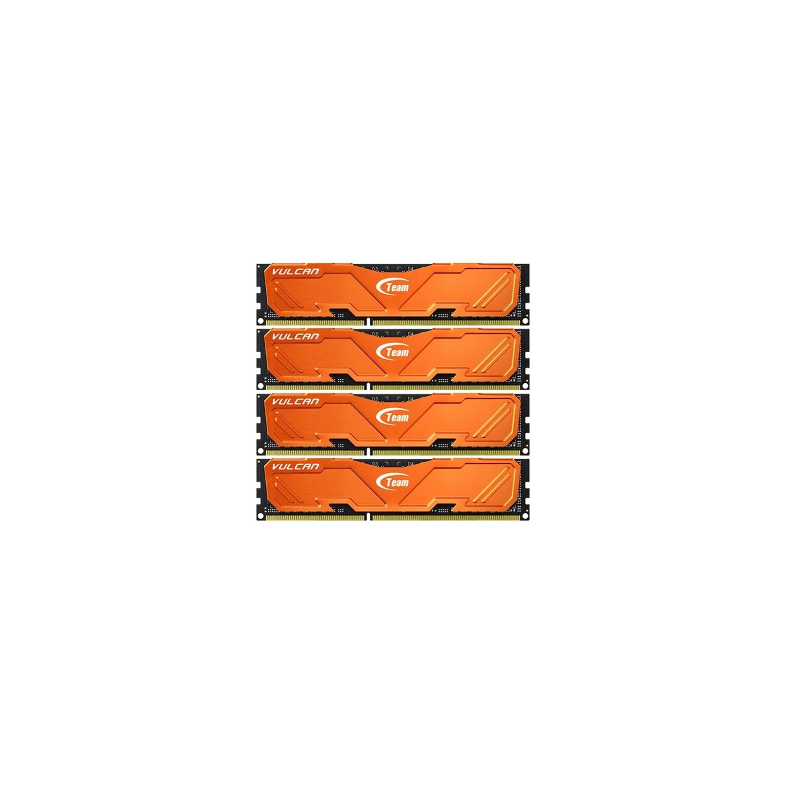 Модуль памяти для компьютера DDR3 32GB (4x8GB) 1600 MHz Vulcan Orange Team (TLAED332G1600HC9QC01)