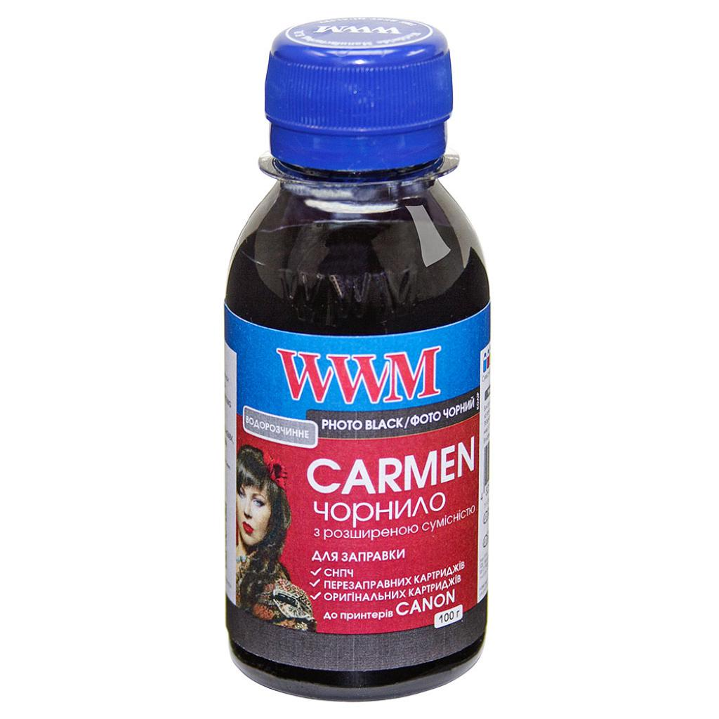 Чернила WWM CANON UNIVERSAL CARMEN 100g Photo Black (CU/PB-2)
