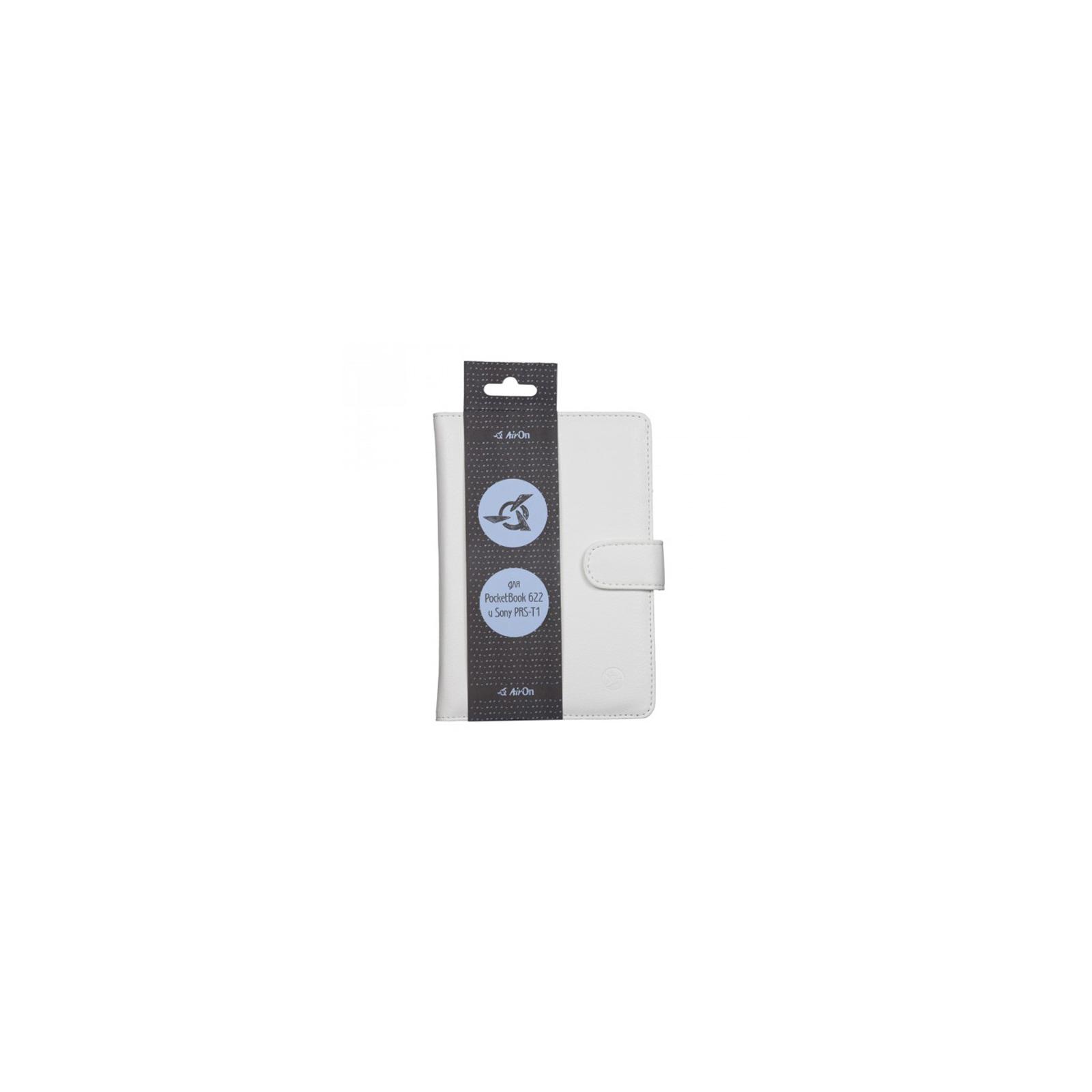 Чехол для электронной книги AirOn для PocketBook 622/623 Touch (white) (6946795860013) изображение 4