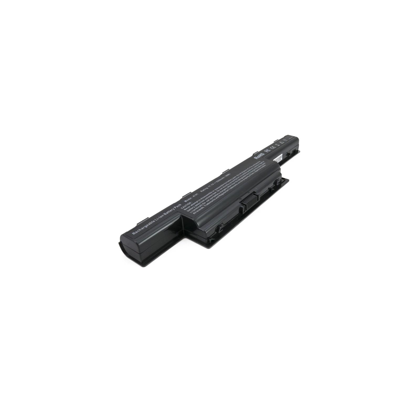 Аккумулятор для ноутбука Acer Aspire 4741 (AS10D41) 5200 mAh EXTRADIGITAL (BNA3908) изображение 2