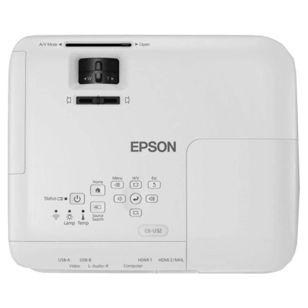 Проектор EPSON EB-U32 (V11H722040) изображение 5