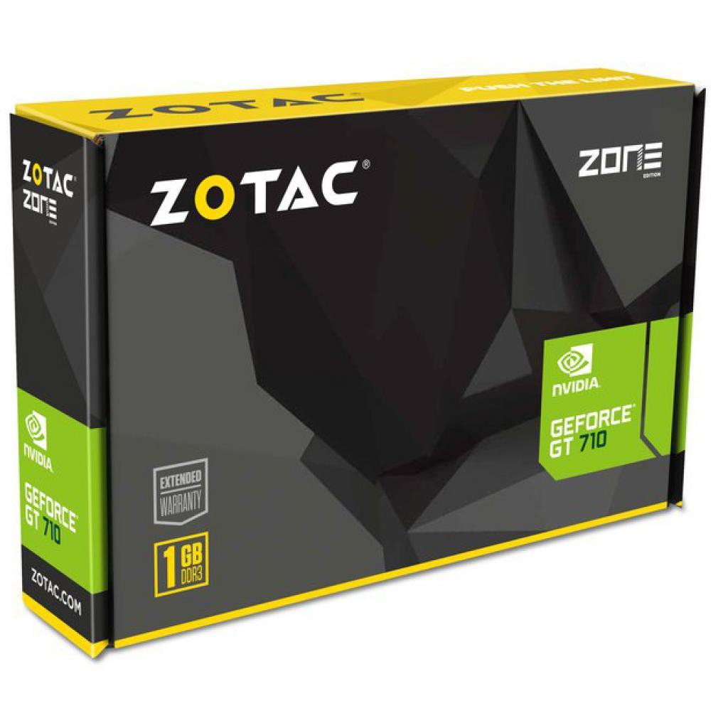 Видеокарта GeForce GT710 1024Mb ZOTAC (ZT-71301-20L) изображение 7