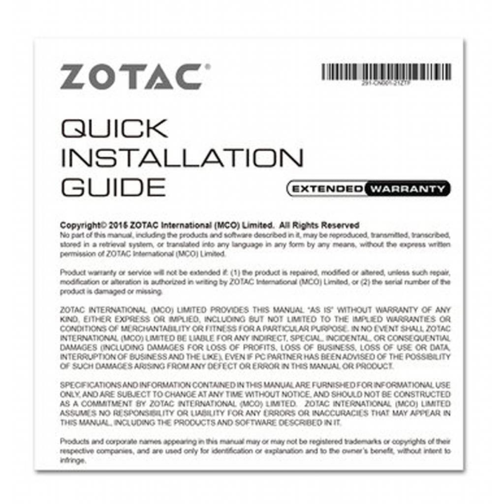 Видеокарта GeForce GT710 1024Mb ZOTAC (ZT-71301-20L) изображение 9