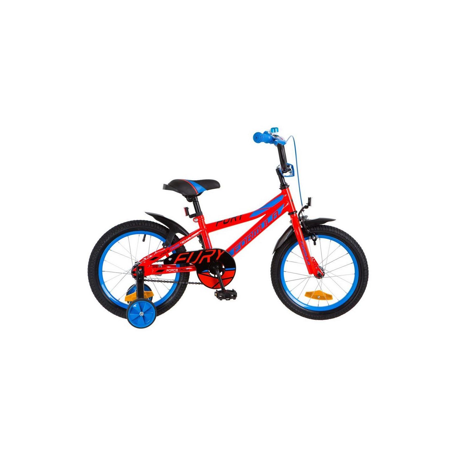 "Детский велосипед Formula 16"" FURY 2018 14G рама-8,5"" St красно-синий (OPS-FRK-16-052)"