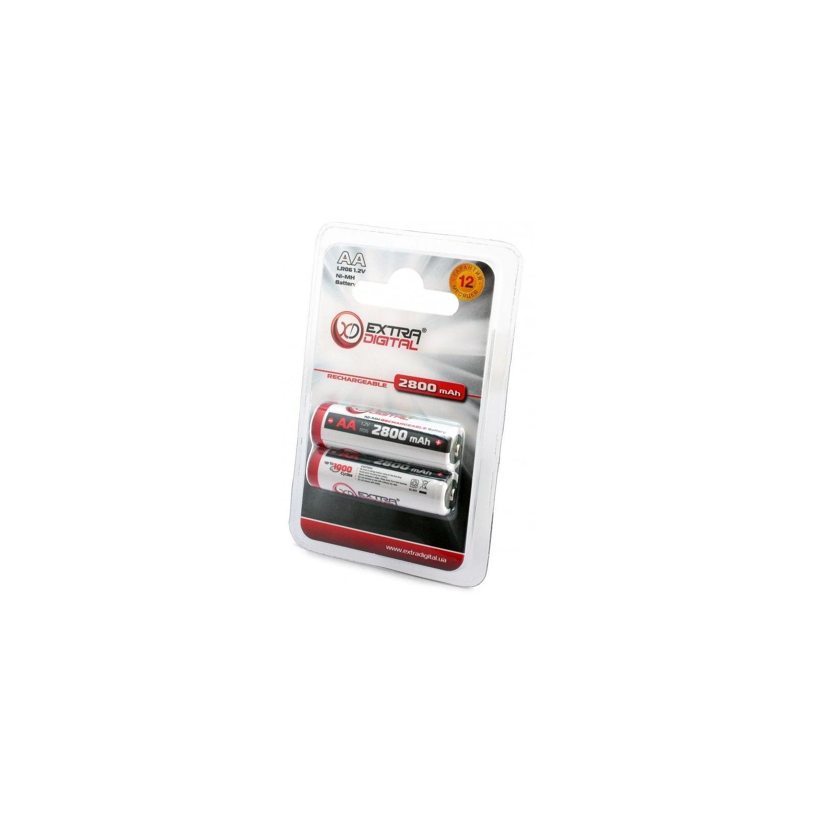 Зарядное устройство для аккумуляторов Extradigital BM110 + 4шт AA 2800 mAh (DV00DV2818) изображение 9