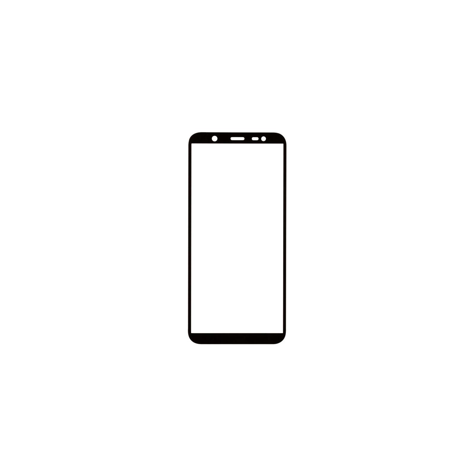 Стекло защитное MakeFuture для Samsung J8 2018 Black Full Cover (MGFC-SJ818B) изображение 3