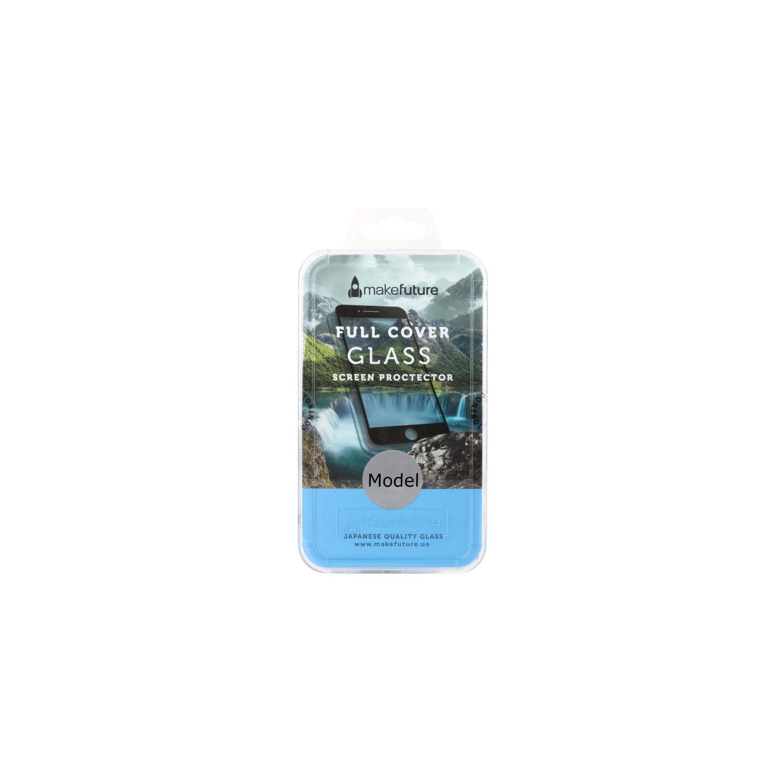 Стекло защитное MakeFuture для Samsung J8 2018 Black Full Cover (MGFC-SJ818B)