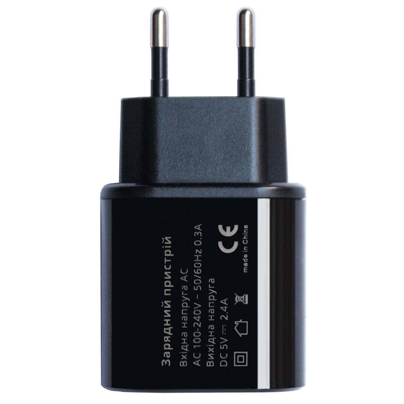 Зарядное устройство Grand-X 5V 2,4A 1*USB (CH-55B) изображение 2