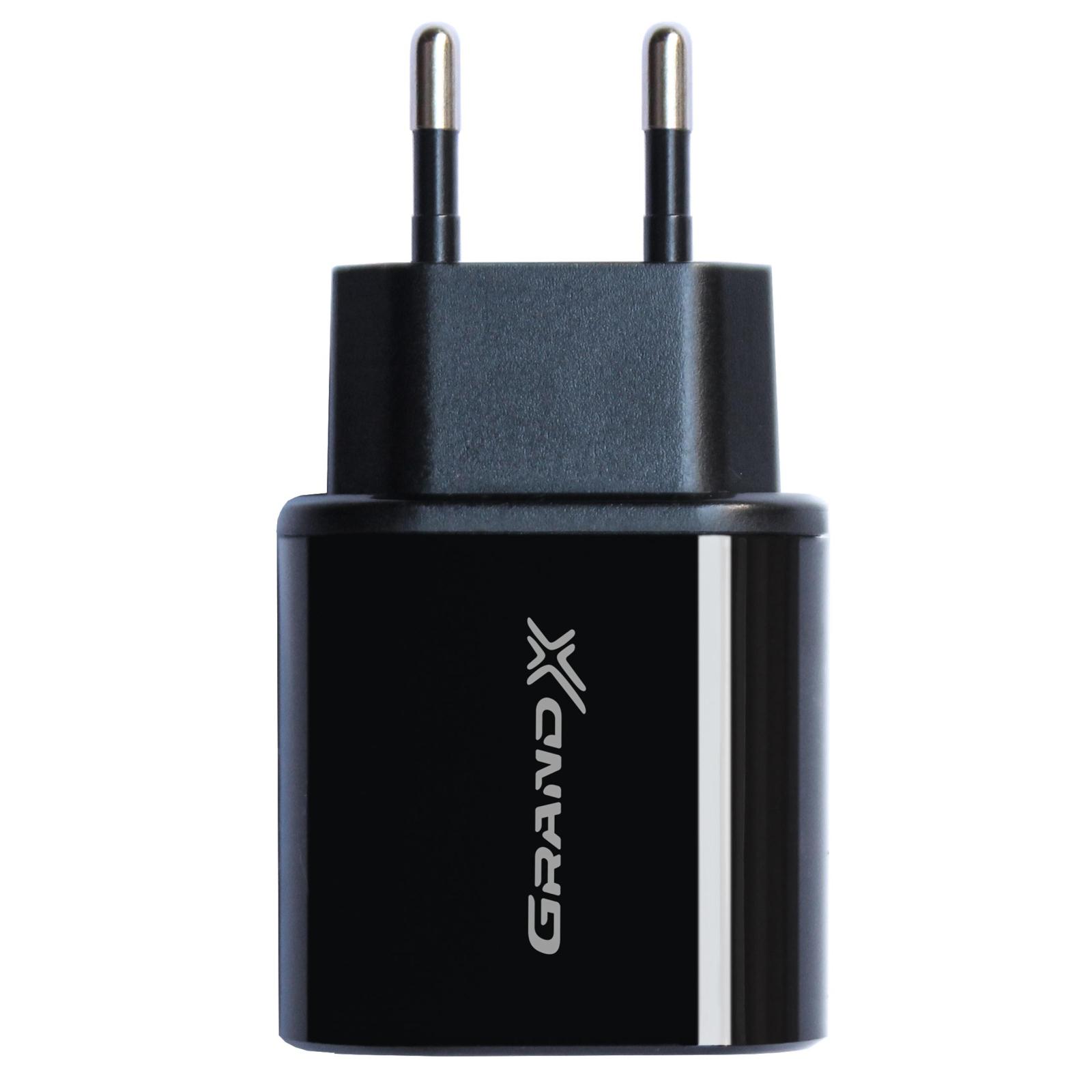 Зарядное устройство Grand-X 5V 2,4A 1*USB (CH-55B)