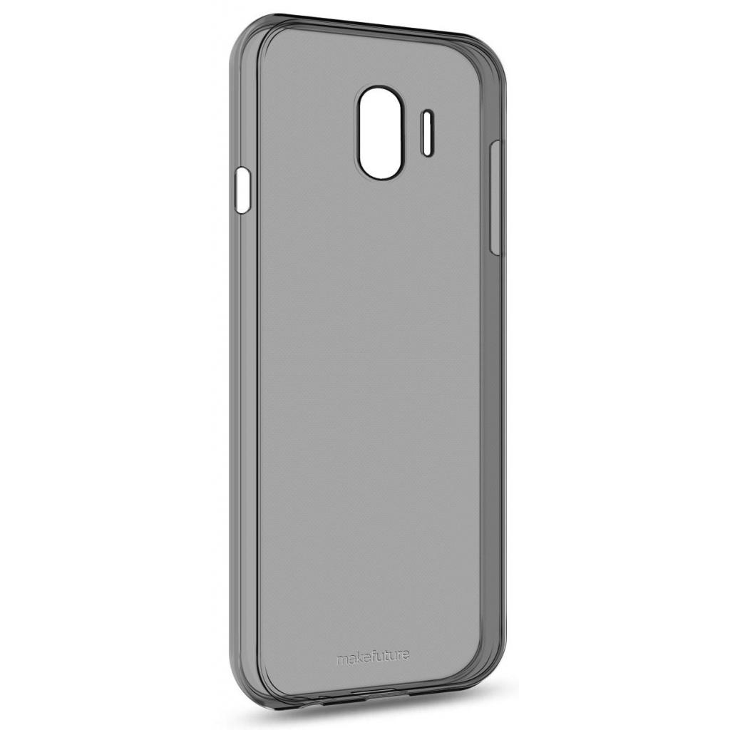 Чехол для моб. телефона MakeFuture Air Case (Clear TPU) Samsung J4 2018 Black (MCA-SJ418BK)