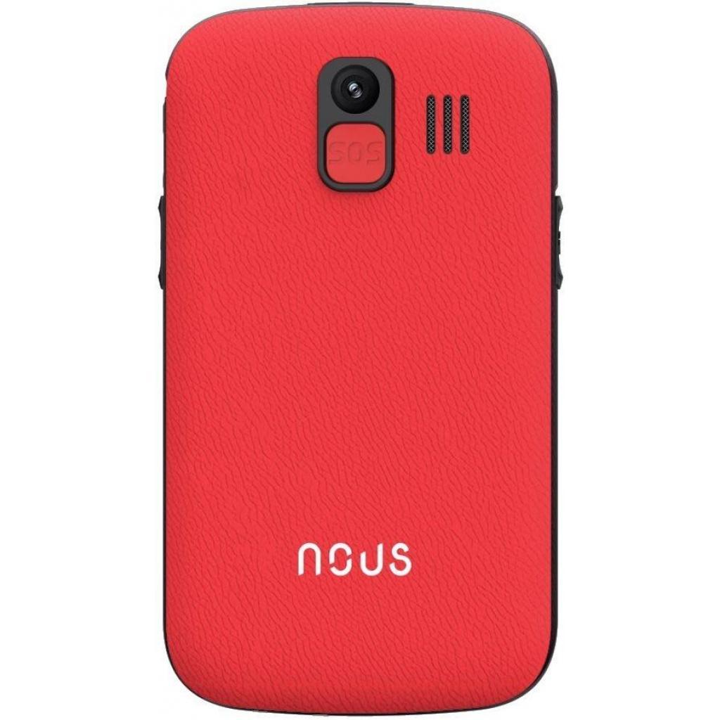 Мобильный телефон NOUS NS 2422 Helper Red Black изображение 2