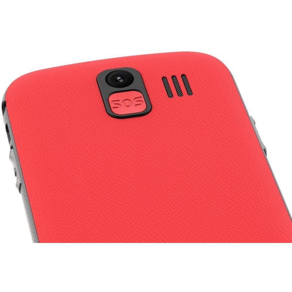 Мобильный телефон NOUS NS 2422 Helper Red Black изображение 4