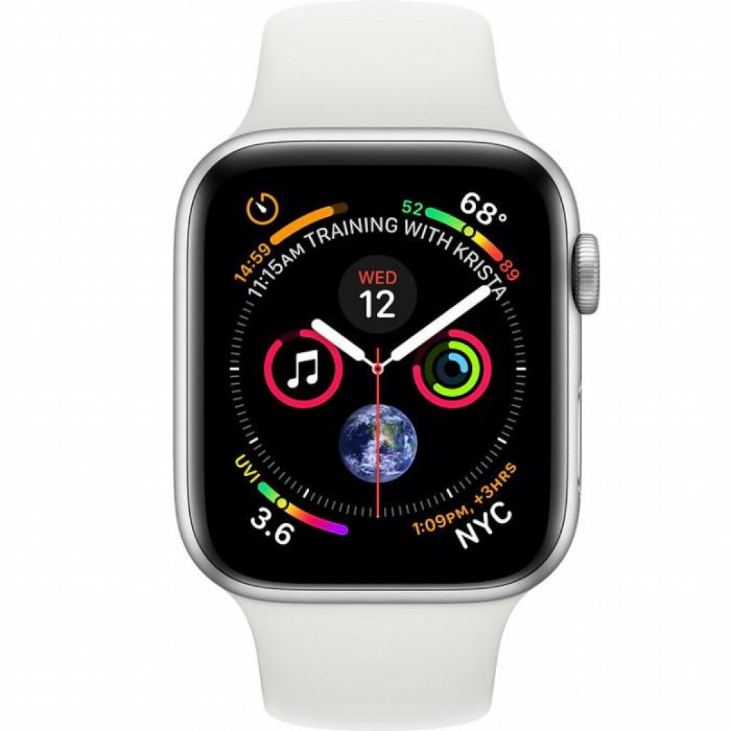 Смарт-часы Apple Watch Series4 GPS,44mm Silver Aluminium Case (MU6A2UA/A) изображение 2