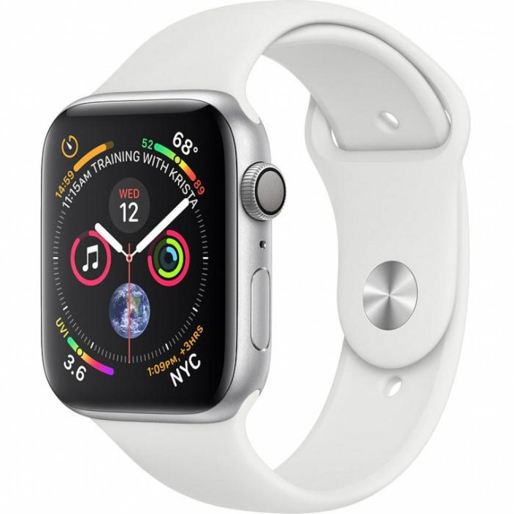 Смарт-часы Apple Watch Series4 GPS,44mm Silver Aluminium Case (MU6A2UA/A)