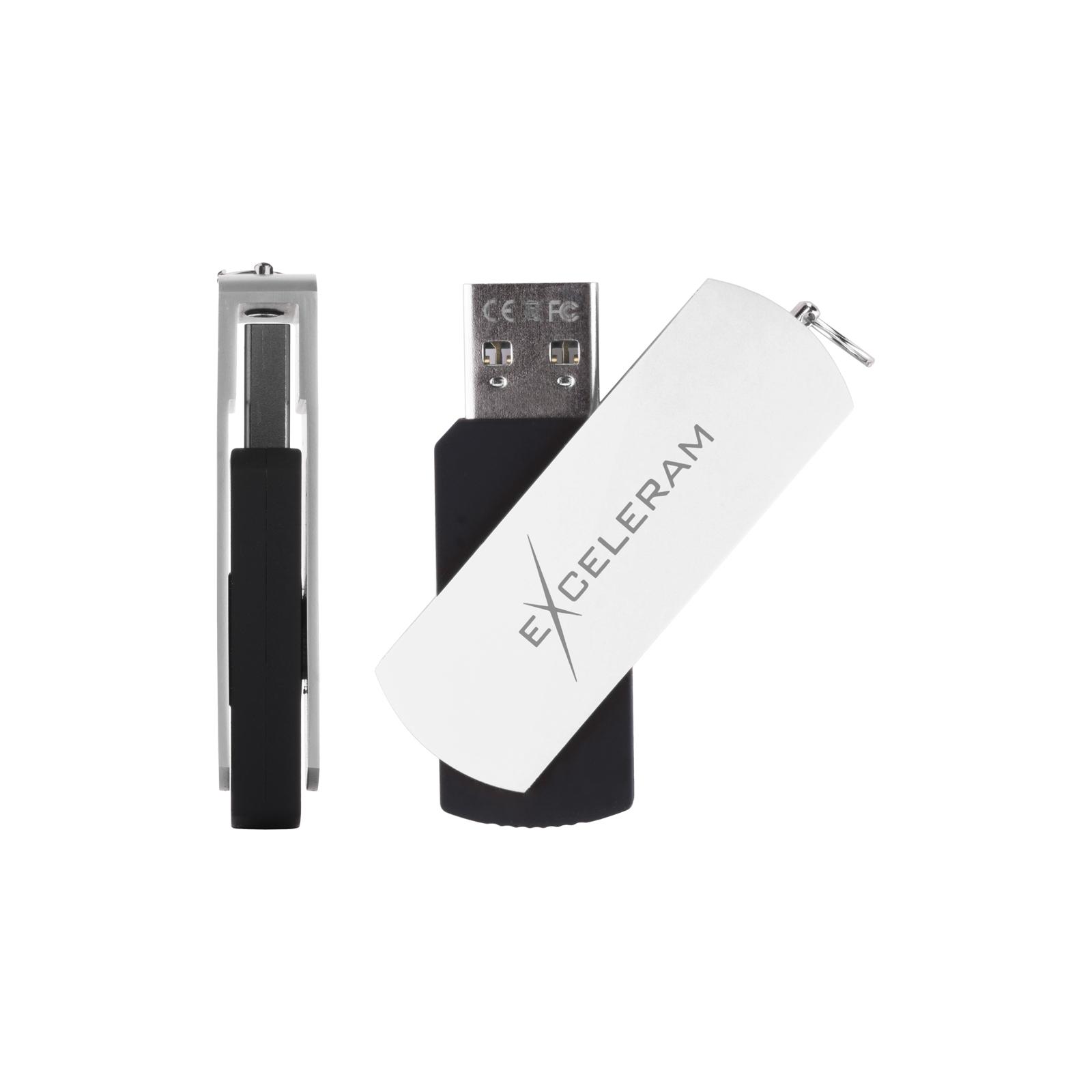 USB флеш накопитель eXceleram 32GB P2 Series White/Black USB 3.1 Gen 1 (EXP2U3WHB32) изображение 4