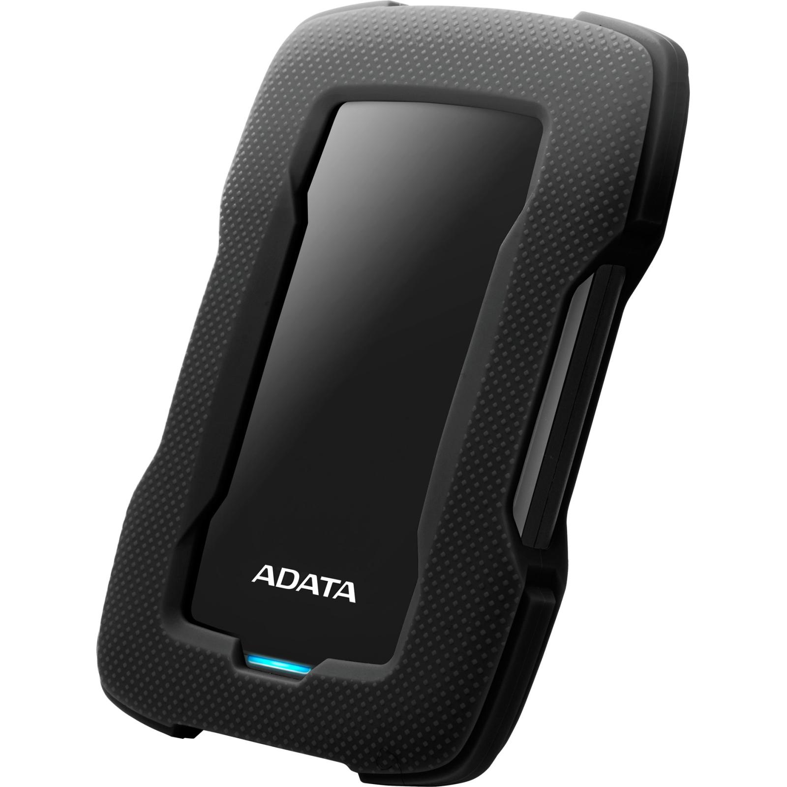 """Внешний жесткий диск 2.5"""" 1TB ADATA (AHD330-1TU31-CBL) изображение 2"""