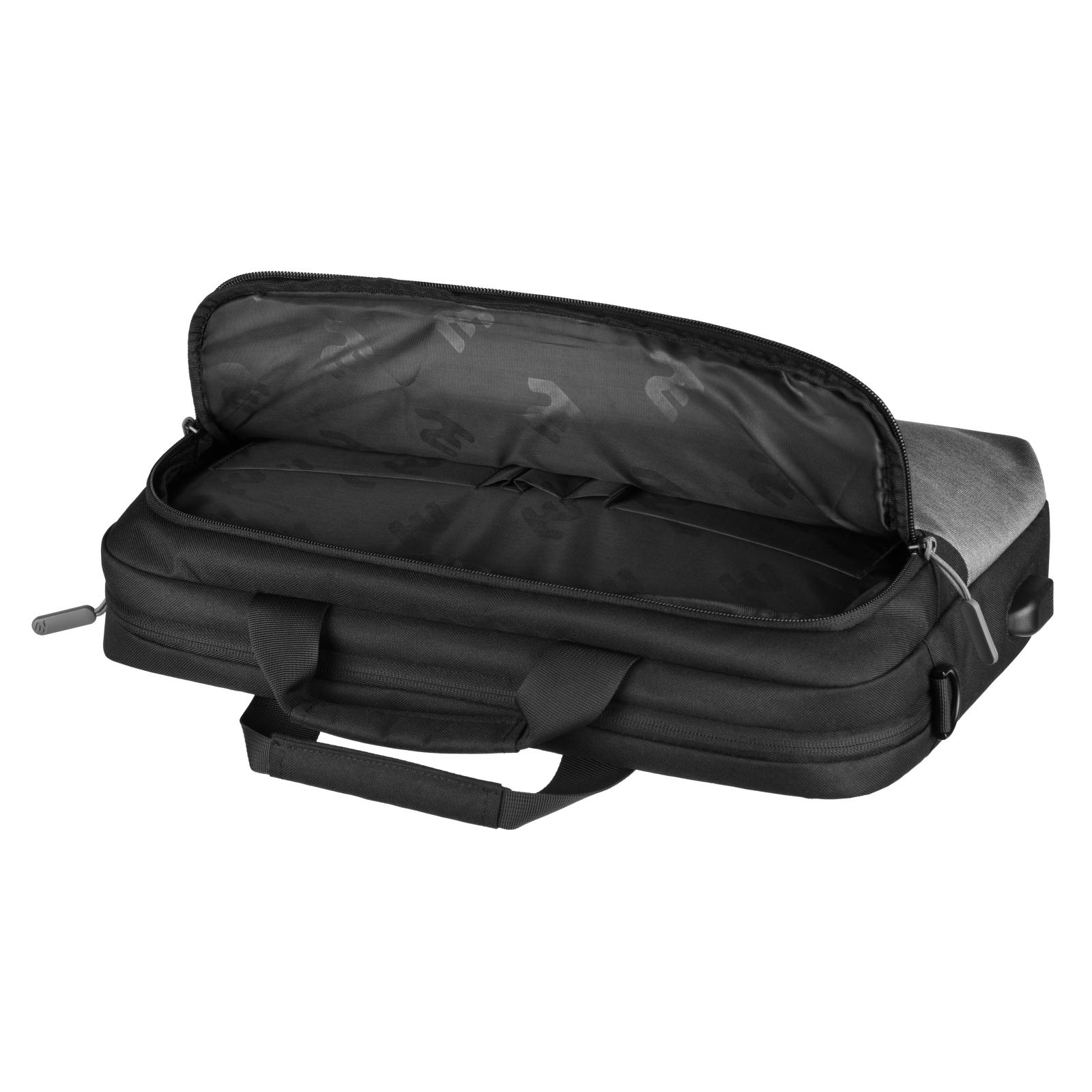 """Сумка для ноутбука 2E 16"""" Supreme, Grey (2E-CBT9185GR) зображення 5"""