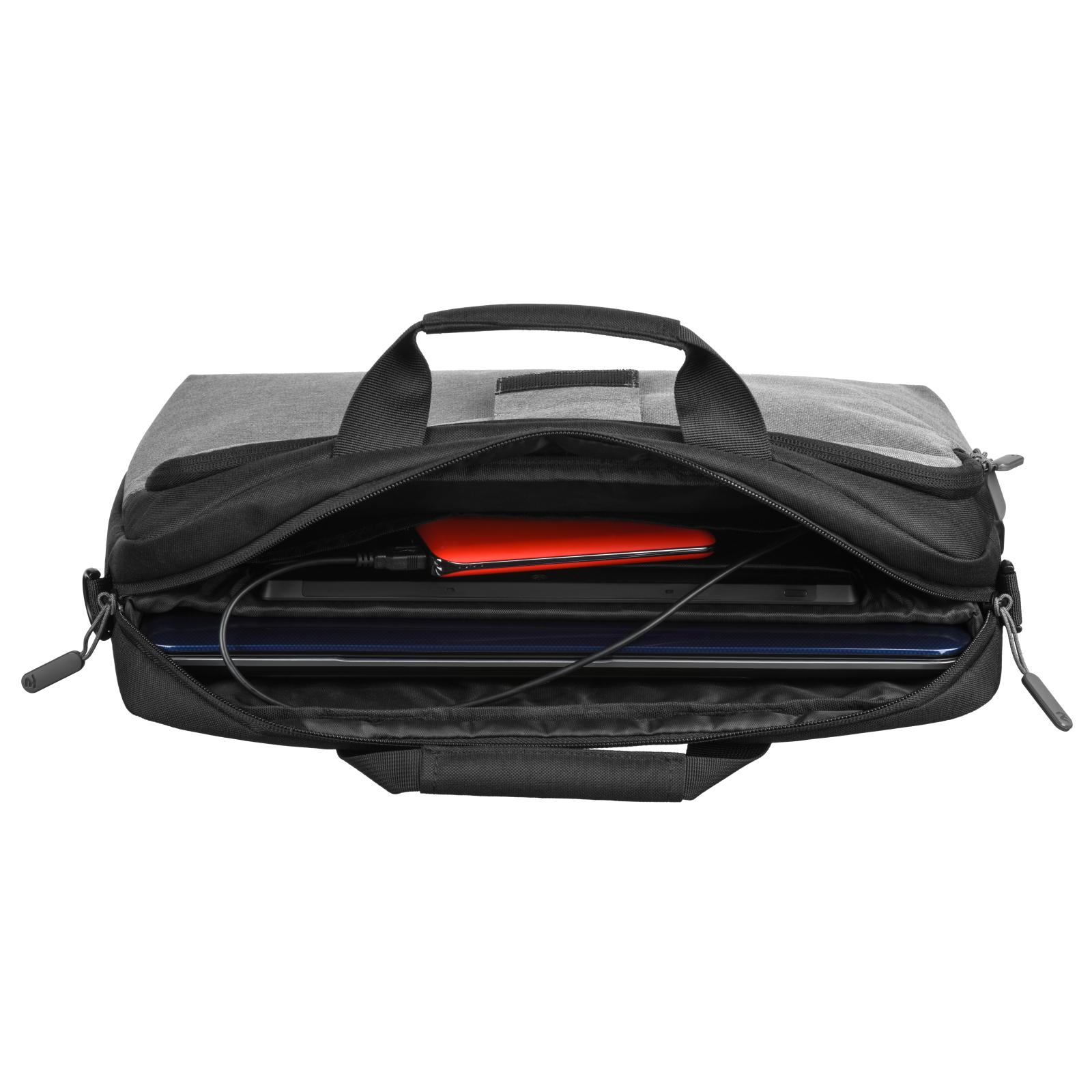 """Сумка для ноутбука 2E 16"""" Supreme, Grey (2E-CBT9185GR) зображення 7"""