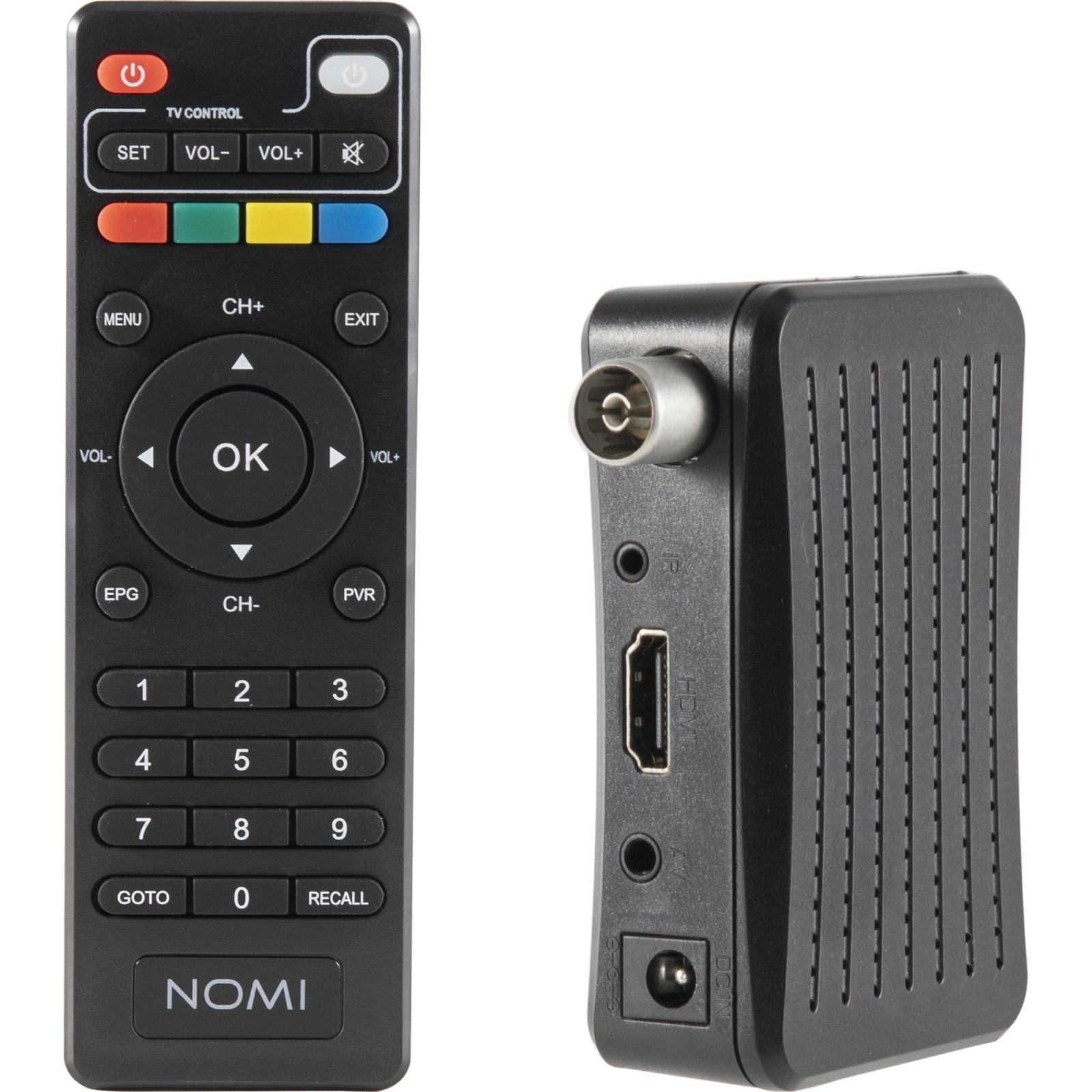 ТВ тюнер Nomi DVB-T2 T203 (425704) изображение 6