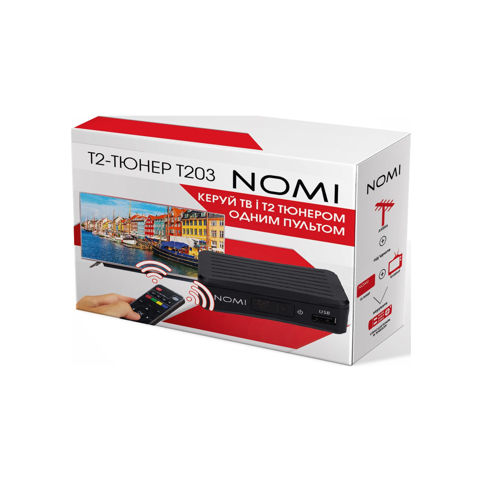 ТВ тюнер Nomi DVB-T2 T203 (425704) изображение 9