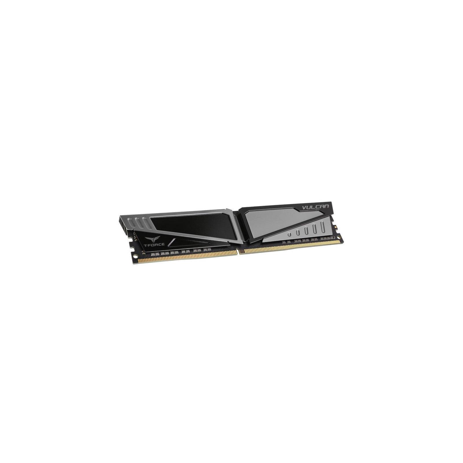 Модуль памяти для компьютера DDR4 8GB 2666 MHz T-Force Vulcan Gray Team (TLGD48G2666HC15B01) изображение 2