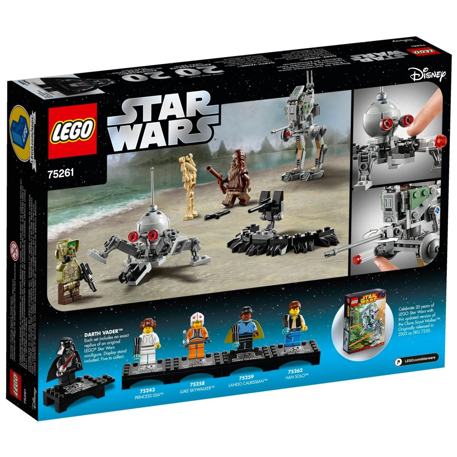 Конструктор LEGO Star Wars Шагоход-разведчик клонов (75261) изображение 5