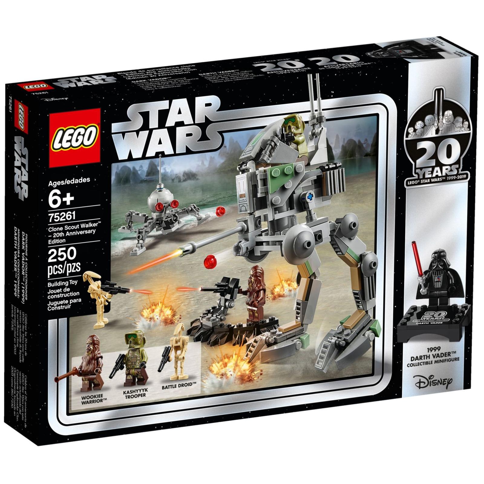 Конструктор LEGO Star Wars Шагоход-разведчик клонов (75261)