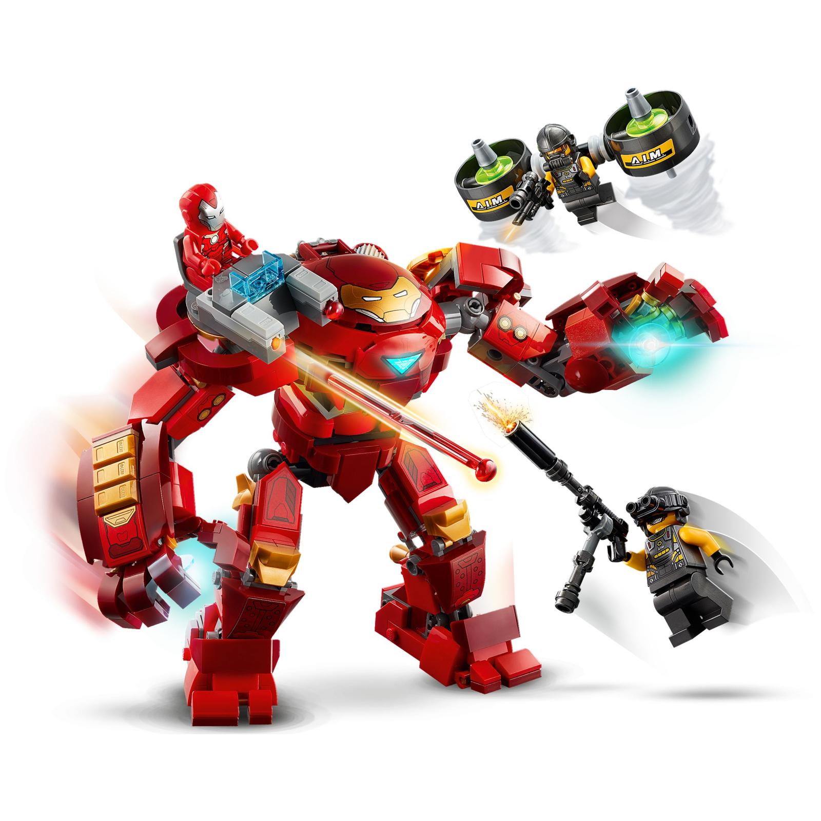 Конструктор LEGO Super Heroes Marvel Comics Халкбастер против агента А.И.М. (76164) изображение 6