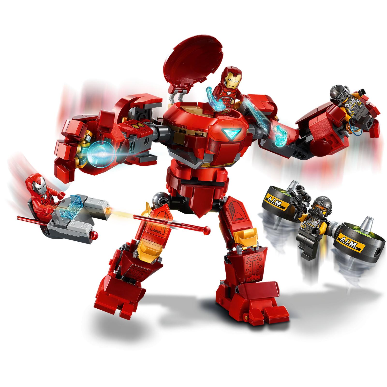 Конструктор LEGO Super Heroes Marvel Comics Халкбастер против агента А.И.М. (76164) изображение 7