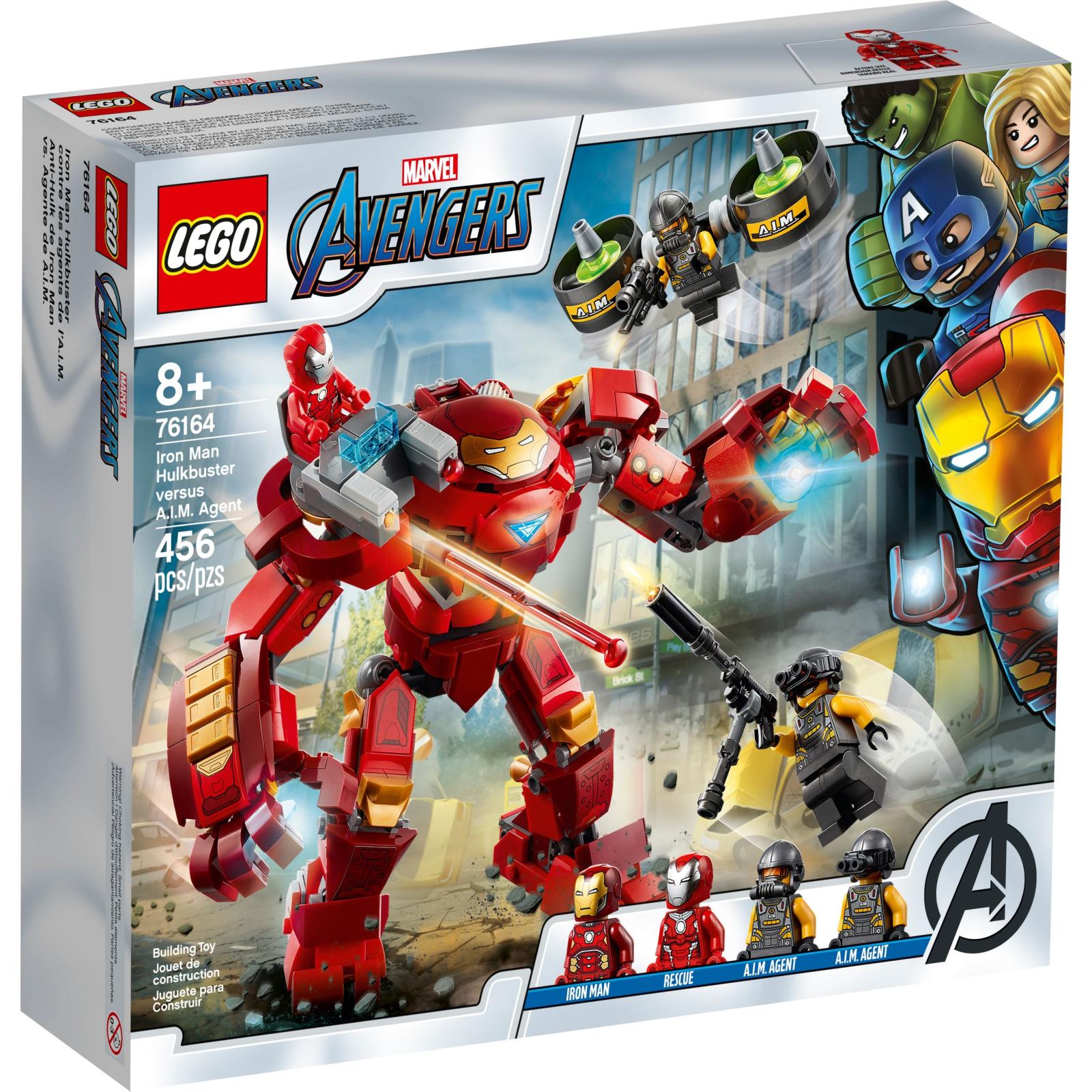Конструктор LEGO Super Heroes Marvel Comics Халкбастер против агента А.И.М. (76164)
