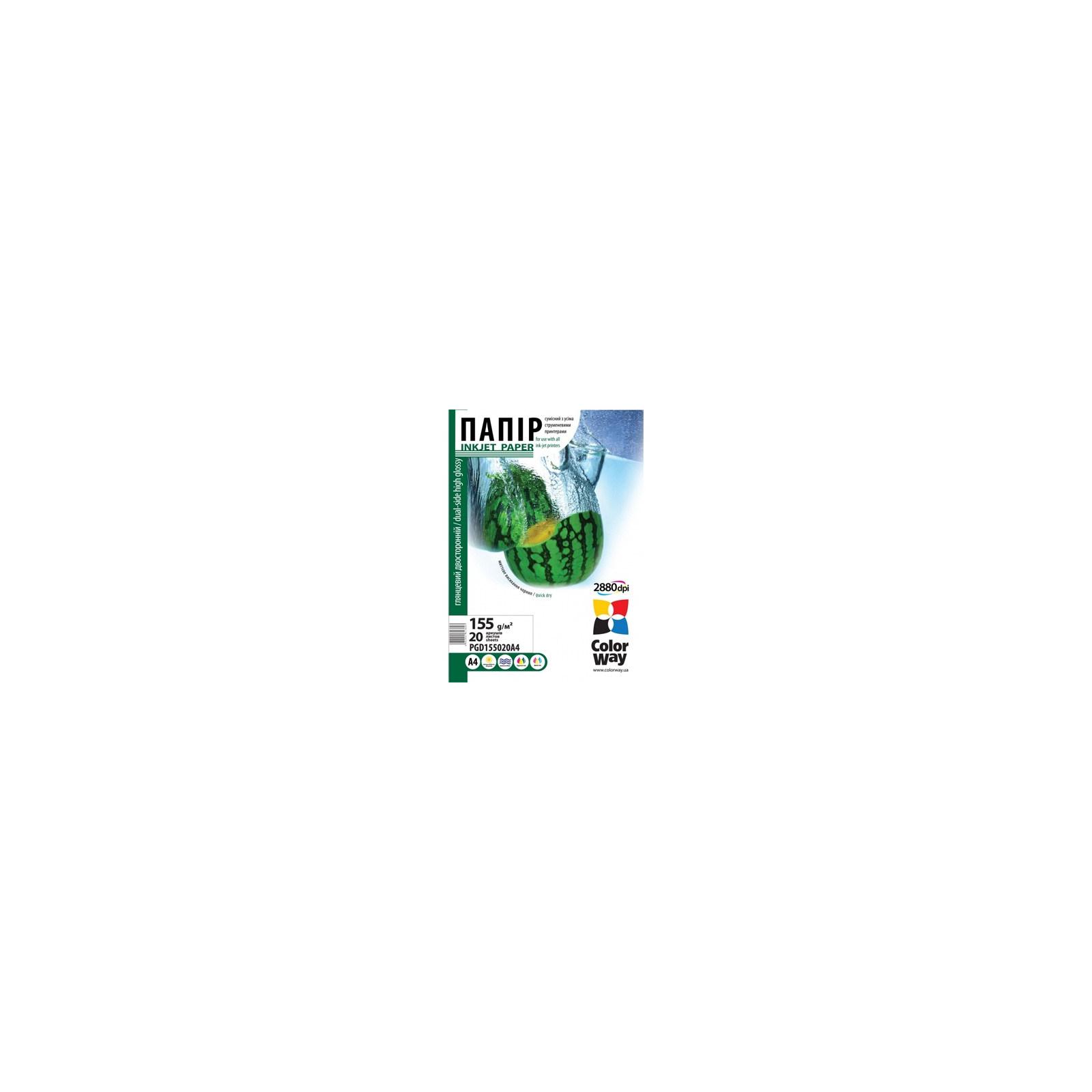 Бумага ColorWay A4 (ПГД155-20) (PGD155020A4)