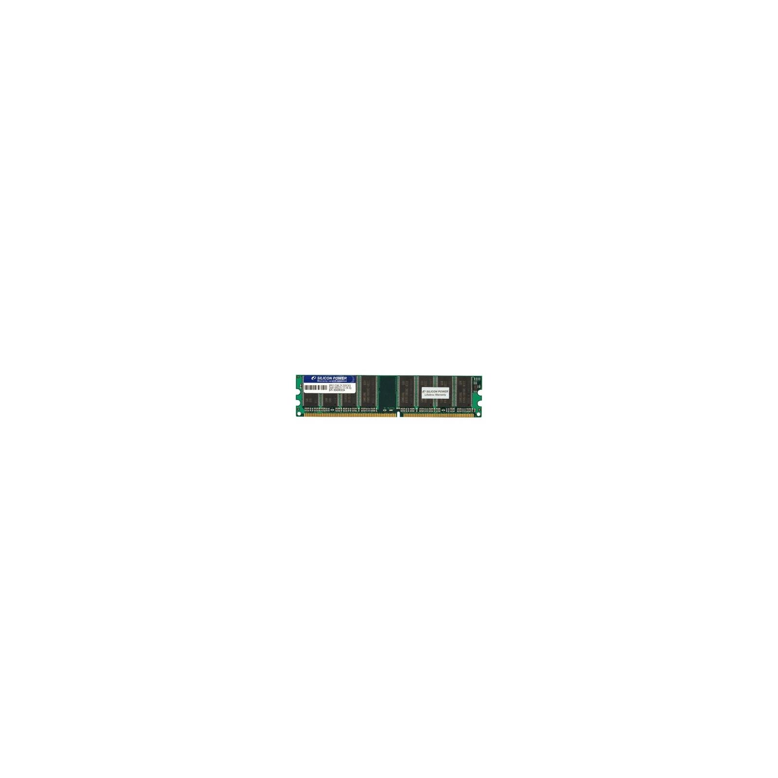 Модуль памяти для компьютера DDR SDRAM 1GB 333 MHz Silicon Power (SP001GBLDU333O02)